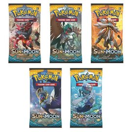 The Pokemon Company Sun & Moon boosterpack