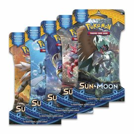 Pokemon Sun & Moon sleeved boosterpack