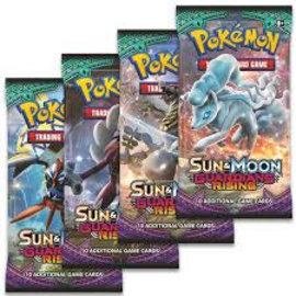 Pokemon Sun & Moon boosterpack, Guardians Rising