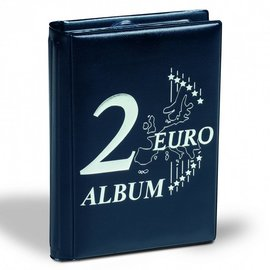 Leuchtturm Route 2-Euro coin album pocket size