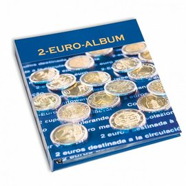Leuchtturm album Numis 2 euro herdenkingsmunten Band 1 t/m 8