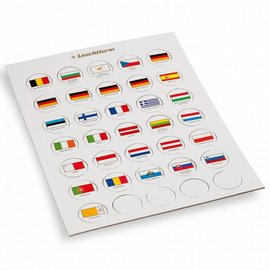 Leuchtturm Euro vlaggen chips