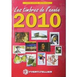 Yvert & Tellier Les timbres de l'année 2010