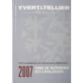 Yvert & Tellier Referentielijst 2007