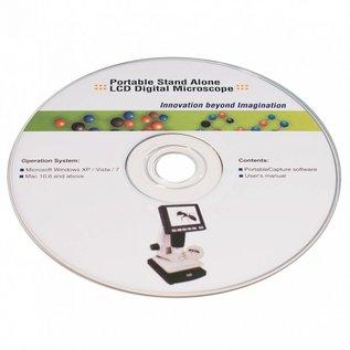 Leuchtturm LCD Digitale Microscoop DM 3 met 10-500x vergroting