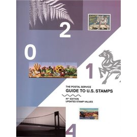 USPS The Postal Service 2014 Guide to U.S. Stamps