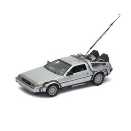 Welly Back to the Future I DeLorean Time Machine