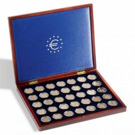 Leuchtturm Münzkassette Volterra UNO für 2-Euromünzen