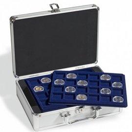 Leuchtturm Aluminium coin case Cargo S for 2-euro coins