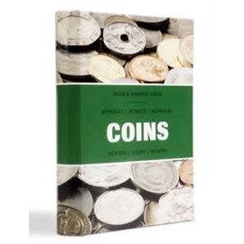 """Leuchtturm """"Coins"""" zakalbum"""