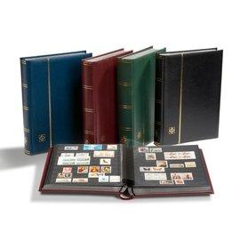Leuchtturm Einsteckbuch in Kassette Premium S 32 SET rot