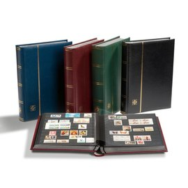 Leuchtturm Einsteckbuch in Kassette Premium S 32 SET schwarz