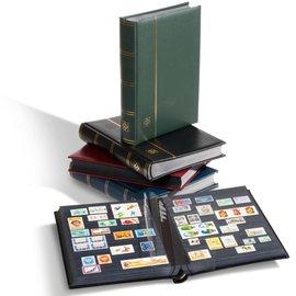 Leuchtturm stockbook in slipcase Premium S 64 SET green