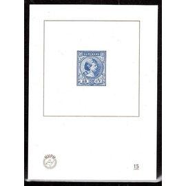 NVPH Niederlande Blaudruck Nr. 15