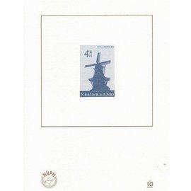 NVPH Niederlande Blaudruck Nr. 10
