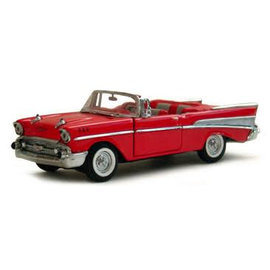 Lucky Die Cast 1957 Chevrolet Bel Air Convertible 1:18