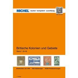 Michel Britische Kolonien und Gebiete, Band 1 A-H