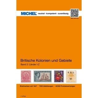 Michel Britische Kolonien und Gebiete, Band 2 I-Z