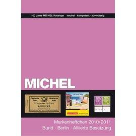 Michel Markenheftchen Bundesrepublik und Berlin 2010/2011