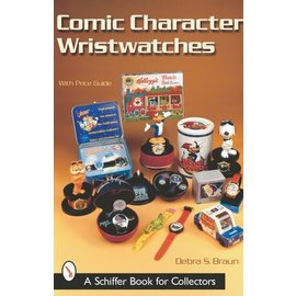 Schiffer Comic Character Wristwatches