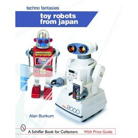 Schiffer toy robots from japan