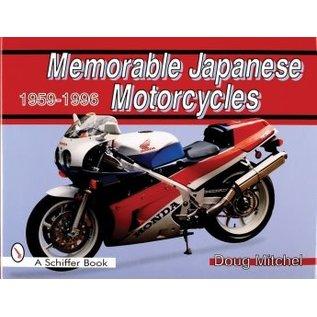 Schiffer Memorable Japanese Motorcycles 1959-1996