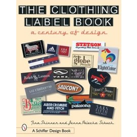 Schiffer The Clothing Label Book -  A Century of Design