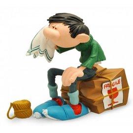 Plastoy Gaston auf Paket