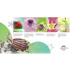 NVPH Netherlands FDC 770 a &  b Insects