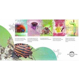 NVPH Niederlande Ersttagsbrief 770 a &  b Insekten