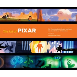 Chronicle Books The Art of Pixar