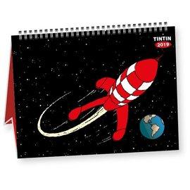 moulinsart Tintin Kalender 2019 klein