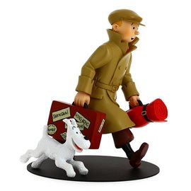 moulinsart Tintin Statue The Homecoming