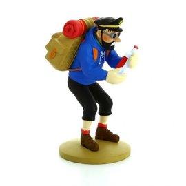 moulinsart Kuifje beeldje - Kapitein Haddock met lege fles