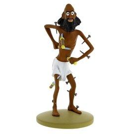 moulinsart Tintin statue -  Fakir Cipaçalouvishni
