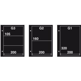 Davo Einsteckblätter für Ersttagsbriefe G3 - 10 Stück