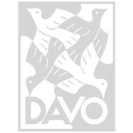 Davo blank leaves Kosmos Twin border - set of 10