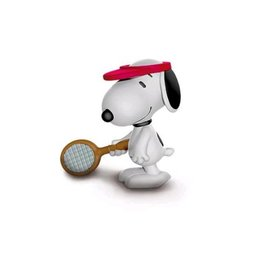 Schleich Peanuts - Snoopy plays tennis