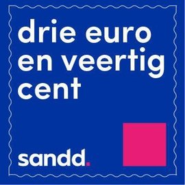 Sandd Stamps 3 Euro and 40 cents - sheetlet of  10