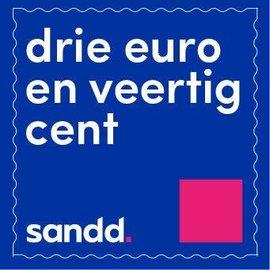 Sandd zegels 3 euro en 40 cent - velletje met 10 stuks