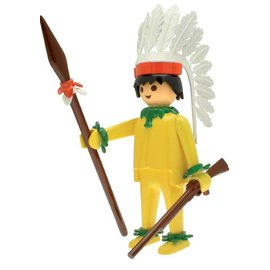Plastoy Playmobil Indianer Häuptling