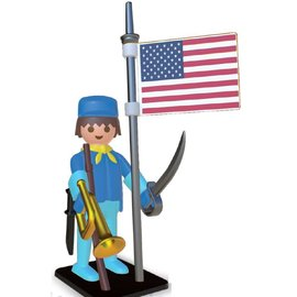 Plastoy Playmobil Amerikanischer Soldat