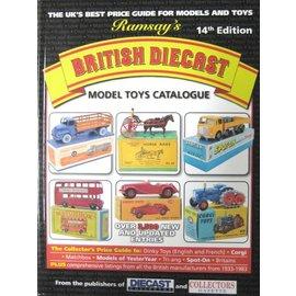 Warners Ramsay's British Diecast Model Toys Catalogue