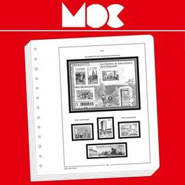 MOC Moclair album pages Ivory Coast 1892-1942