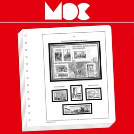 MOC Moclair album pages Wallis & Futuna II 1961-1989