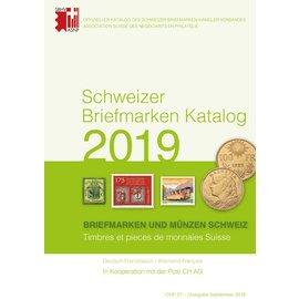 SBK Schweizer Briefmarken Katalog 2019