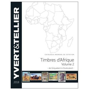 Yvert & Tellier Timbres d'Afrique Volume 2