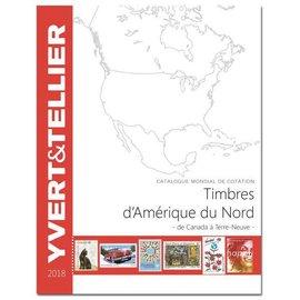 Yvert & Tellier Timbres d'Amerique du Nord 2018