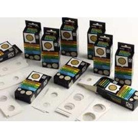 Davo Münzrähmchen selbstklebend 35 mm - 25 Stück
