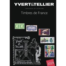 Yvert & Tellier Timbres de France 2019